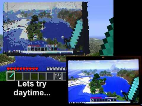 YO DAWG - Used the Kinect to record my monitor while playing Minecraft. Recreated the visuals in Minecraft. All the scripts are free and can be downloaded at http://ww...