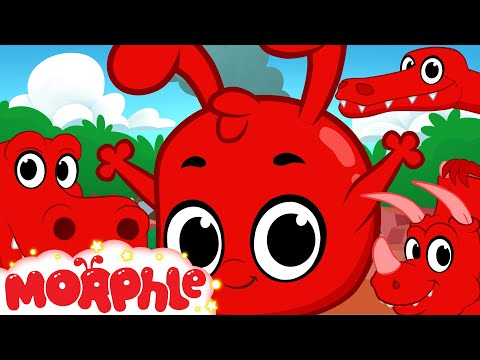 Morphle and the Dinosaurs (+1 hour funny Morphle kids videos compilation with cars, trucks, bus etc)_Legjobb vicces vide�k