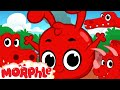 Morphle And The Dinosaurs  1 Hour Funny Morphle Kids Videos Compilation With Cars Trucks Bus Etc