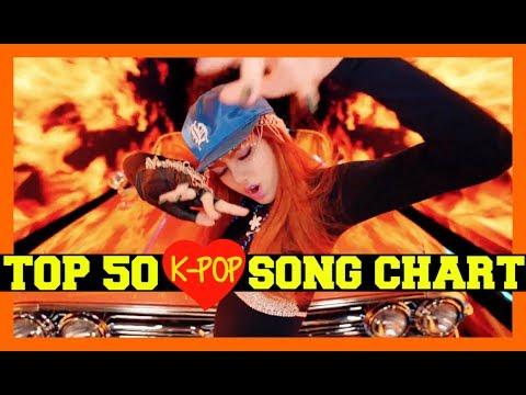 [TOP 50] K-POP SONGS CHART • JUNE 2017 (WEEK 4) (видео)