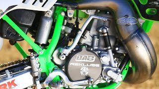1. Inside Destry Abbott's Special Edition Kawasaki KX500 - Dirt Bike Magazine