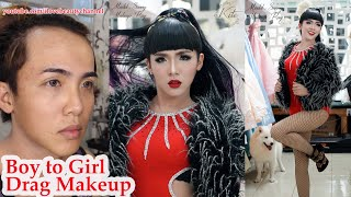 Video Drag Queen Makeup Transformation For  Asian Pride Event ✔ MP3, 3GP, MP4, WEBM, AVI, FLV Agustus 2018