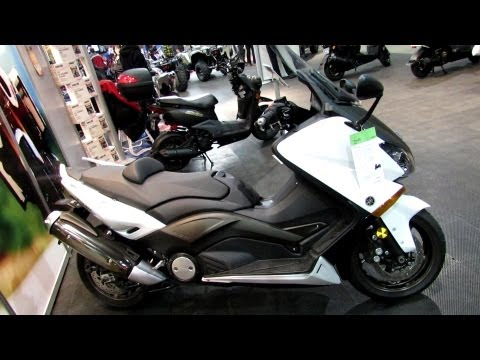 2013 Yamaha T-Max Scooter - Walkaround - 2013 Quebec City Motorcycle Show