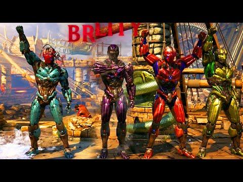 Video Mortal Kombat X: ALL