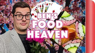 Ben's Food Heaven - Quiche, Japan and Magic by SORTEDfood