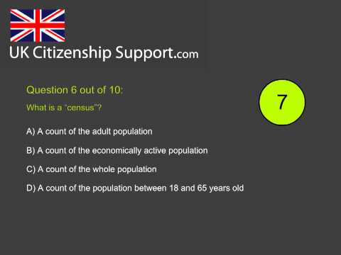 Life in the UK Test (2nd edition) - hardest questions