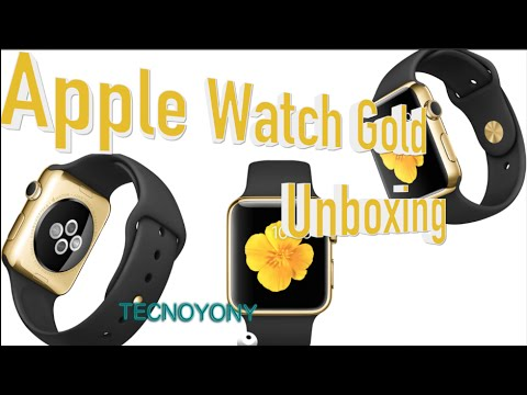 Unboxing Apple Watch Gold