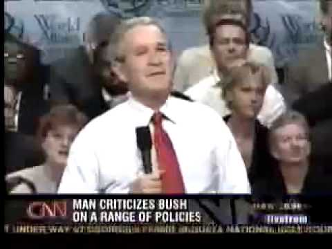 Goerge Bush Oblivious to American Values