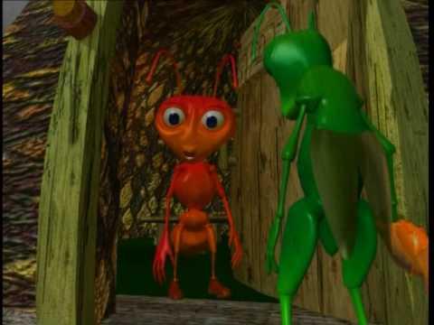 הצרצר והנמלה מתוך בגן של דודו 15-שירת החיות DUDU FISHER