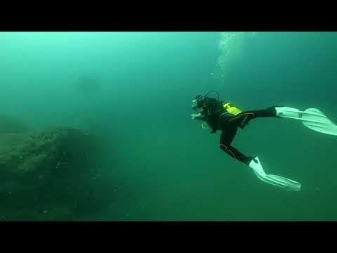 Scuba diving to EvdokiaII (Adriatic sea)_Búvárkodás