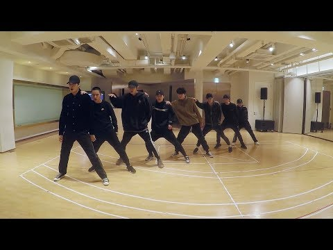 EXO new song 'Eletronic kiss' Dance practice video released by SM