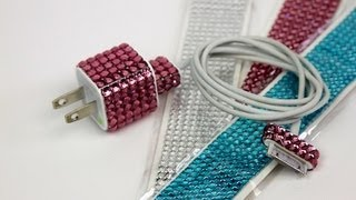 DIY: Personalized iPhone Charger   ShowMeCute - YouTube