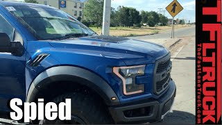 Is this a Production Ready 2017 Ford Raptor Spied Undisguised in the Wild? by The Fast Lane Truck