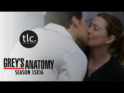 Greys Anatomy Meredith & Andrew DeLuca (MerLuca) Season 15-16