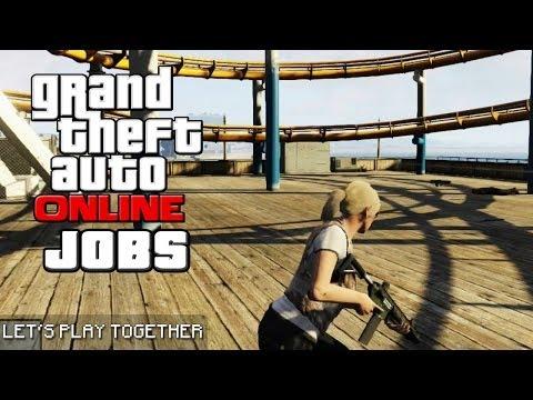 GTA ONLINE JOBS: Überlebensk(r)ampf am LS Beach [LET'S PLAY GTA V]