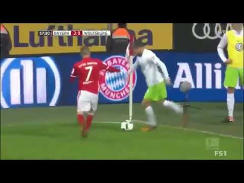 Bayern Munich vs Wolfsburg 5 0   All Goals & Highlights   10 12 2016 HD