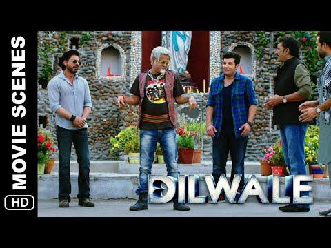 Itna Kharcha   Dilwale   Comedy Scene   Shah Rukh Khan, Varun Dhawan, Varun Sharma
