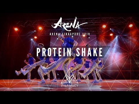 Protein Shake | Arena Singapore 2019 [@VIBRVNCY Front Row 4K] - Thời lượng: 4 phút, 32 giây.