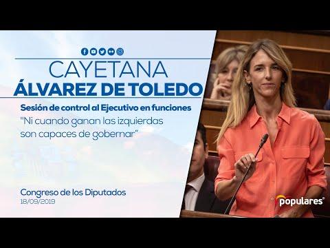 Repaso de Álvarez de Toledo al PSOE: