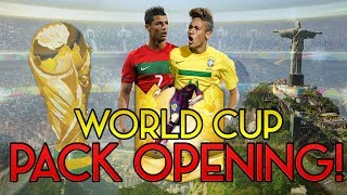 Fifa 14 Amazing World Cup Pack Opening High Rated Players Ultimate Team