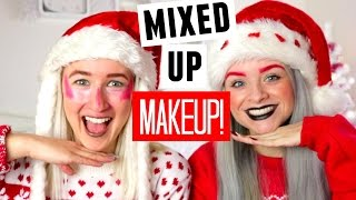 Video THE MIXED UP MAKEUP CHALLENGE WITH SOPHIE LOUISE!! | sophdoesnails MP3, 3GP, MP4, WEBM, AVI, FLV Juli 2018