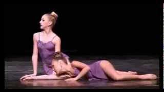 """Dance Moms - Maddie ZIegler & Chloe Lukasiak Duet """"Confessions"""" (Season 4, Episode 8)"""