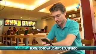 Redetv News entrevista Dr. Jonatas Lucena Sobre Bloqueio do WhatsApp