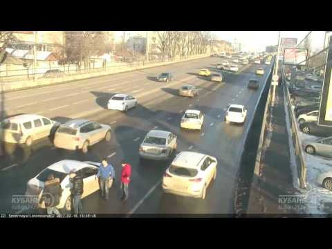 Драка водителей в Краснодаре