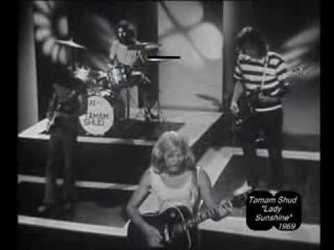 """Tamam Shud """"Lady Sunshine"""". Hit Scene 1969"""