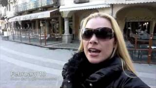Domodossola Italy  city pictures gallery : Amanda Somerville Video Blog - Domodossola, Italy 10.02.2010