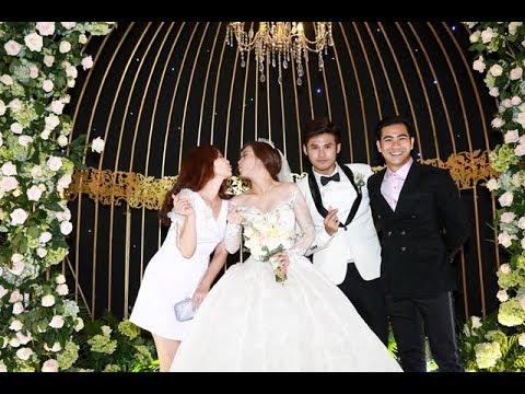 0 Sao Việt rạng rỡ đến chúc mừng đám cưới Vũ Ngọc Ánh   Anh Tài