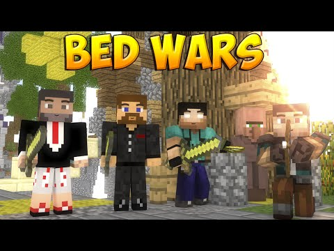 Minecraft Bed Wars #22 - Две команды