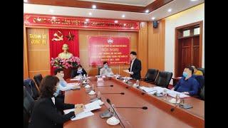 Hội nghị hiệp thương lần thứ nhất bầu cử đại biểu HĐND thành phố khóa XX nhiệm kỳ 2021-2026