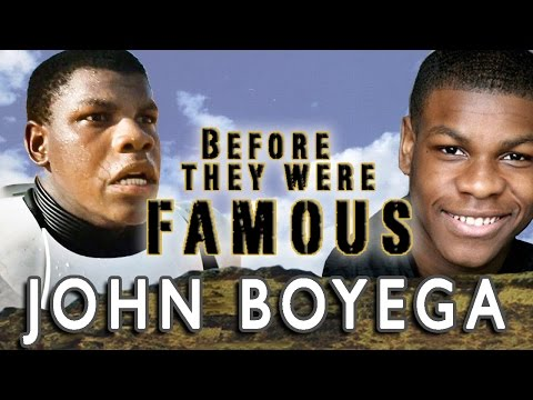 JOHN BOYEGA | BEFORE THEY WERE FAMOUS @JohnBoyega