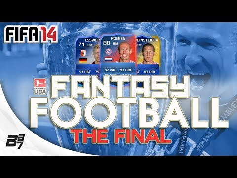 FANTASY FOOTBALL BUNDESLIGA FINAL VS FINCH | FIFA 14 Ultimate Team