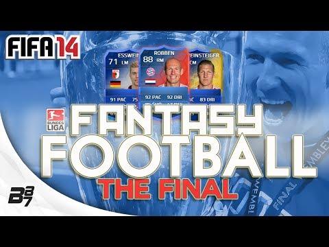 FANTASY FOOTBALL BUNDESLIGA FINAL VS FINCH   FIFA 14 Ultimate Team