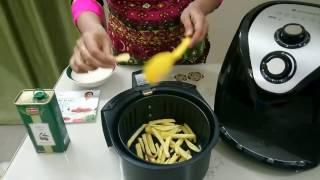 Wonderchef Air fryer Review,Perfect Airfryer chips / French Fries from Potato /health fryer