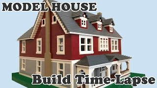 Alas! A LEGO time lapse build, an often requested video, albeit of a house instead of a ship.  Someday I'll do a ship!  Anyways, here is my Lego Dream house, it is of an 100% original design, aka a MOC.  It is a classical looking two story American family home.  Decorated with a sweeping porch, dormer windows, chimneys, and white trim.  It was supposed to feature a detached garage but I decided to hold out on building it due to lack of dark red pieces. - A model of this house was built in Lego Digital Designer beforehand to aid in the making of this video.- I plan to make an update video of this showing a fully furnished interior sometime in January 2017Music: Waltz of the flowershttps://imgur.com/gallery/AmUDK