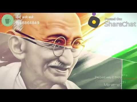 Gandhi Jayanti status video