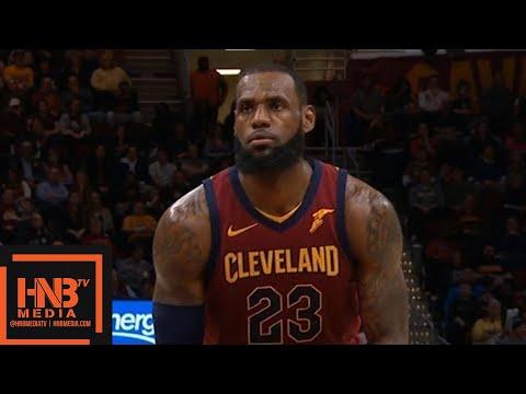 Cleveland Cavaliers vs Toronto Raptors 1st Half Highlights / March 21 / 2017-18 NBA Season (видео)