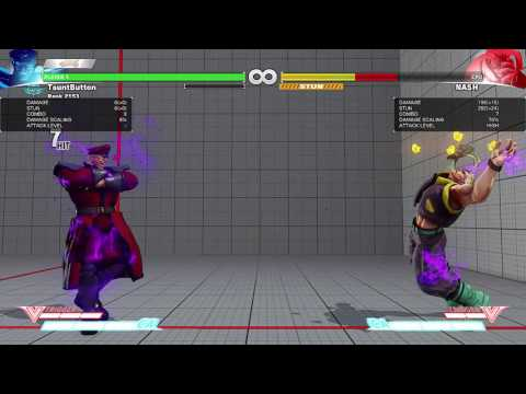 SFV Bison Critical Art Glitch?