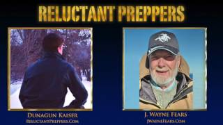 """How will you prepare food when an emergency disrupts normal services, or you are forced to eat on the move and off the grid? Legendary outdoorsman, scout, army specialist, search & rescue trainer, and prolific author J Wayne Fears lays out field-proven practical tips on how you can cook off grid, for you and your family's survival and well-being in any emergency situation!IN THIS INTERVIEW==============Short-term vs. Long-term Short-term – A few days using patio grill, camp stove, etc. Cooking thawed food, emergency freeze dried food, boiling water to drink Long-term – Months - back to the 1700's. Fireplace/hearth cooking skills. Wood burning stove, open fire outside, stick stoves, etc.Know how to build a fire under all circumstances – many don't- Rainy, windy, cold, wet- Book: Art of Building a Fire (J Wayne Fears)- Take a basic survival course from local land grant universityWood sources – wood lot, parks, forests. Wood can disappear quickly in a long term disasterFire starters – wooden strike anywhere kitchen matches (stored to keep dry: vacuum packer is ideal), magnesium fire starters (larger: 1/2"""" diameter, good quality, made in USA), flint & steel (harder to use)Fire ring in yard – cooking set-up: grill, rack & hooks, tools, pots and skillets for open fire cooking* need to outfit with: racks, implements, tool hangers, lid liftersDutch oven cooking - Single best way to go for long-term survival: used by US colonists, Western wagon trains, versatile & proven.Reflector oven - Popular in outfitter camps & cowboy camps, concentrates the heat and enables baking.Bean hole baker - Brick-lined hold in the ground, build fire to heat hole to 400F hot coals, dutch overs, cover with sheet metal and cover with mineral earth, leave for the day: slow cooking ready and hot when you return.Food supply may determine cooking types - Long term situation: If you have 5 yrs of freeze dried foods: boil water is main fare. If Other fresh meats, wild game, foraging for wild plants: bak"""