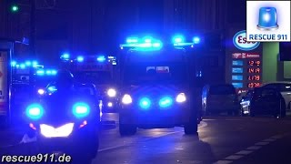 Les Loges-en-Josas France  City pictures : [Versailles] Convoi Police / Pompiers / SAMU