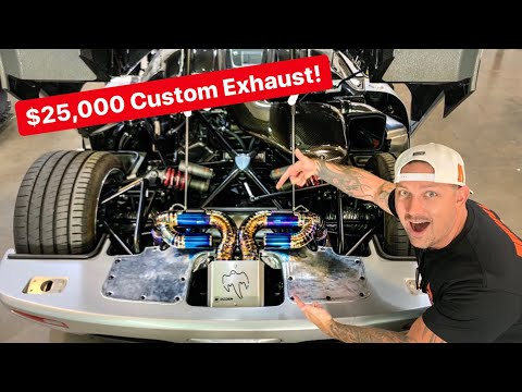 STRAIGHT PIPING A KOENIGSEGG!  *LOUDEST HYPERCAR EVER? *