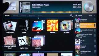 Select! Music Player Tablet YouTube video