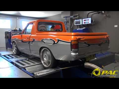 NA 12ABP Datsun 1200 Ute Dyno Run at Pac Performance