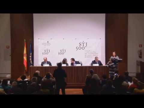 Presentación del Programa de actividades del V Centenario de Santa Teresa