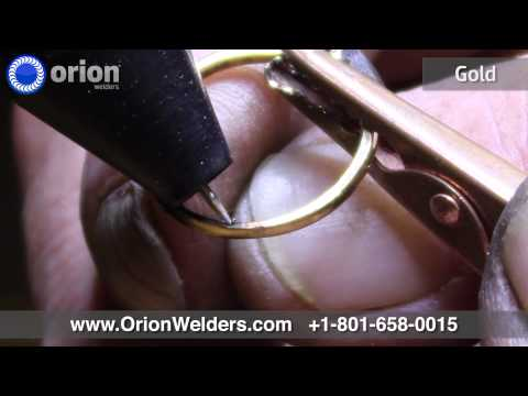 Orion Welders - Jewelry Demo Reel 2014