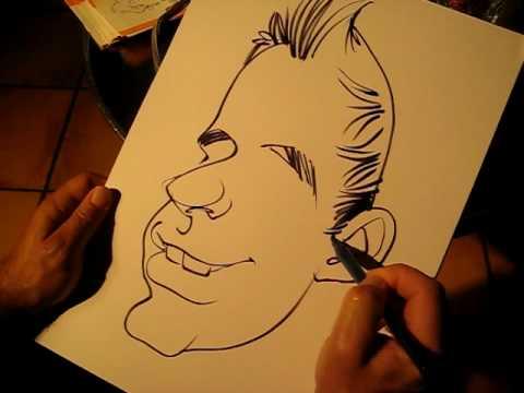 Karikaturen zeichnen mit dallidali.de 1