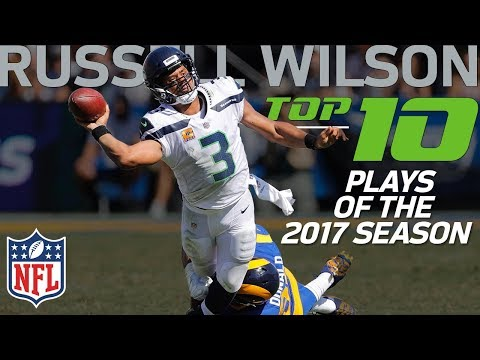 Video: Russell Wilson's Top 10 Plays of the 2017 NFL Season | NFL Highlights